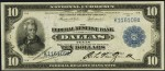 $10 Federal Reserve Bank Note (1915-1918)
