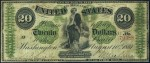 Demand Note - 1861 - Twenty Dollars