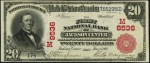 National Currency - 1902 Red Seal - Twenty Dollars