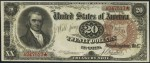 Treasury Note - 1890 & 1891 - Twenty Dollars
