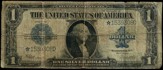 Speelman White 1923 Star Note