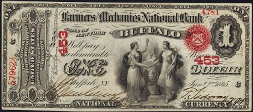 How Much Is A 1867 $1 Bill Worth?