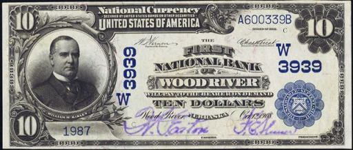 We Know Exactly What To Look For And Would Be Hy Provide A Free Raisal Our Best Offer 1902 10 Blue Seal National Bank Note