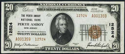 Antique Money – Old Money from The First National Bank Of