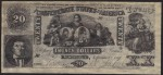 FAKE ALERT:  Confederate States Of America $20 Bill September 2, 1861