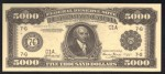 FAKE ALERT:  1918 $5000 Bill Serial Number G1A