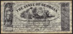 FAKE ALERT:  The State Of Georgia $100 Bill April 6th, 1864