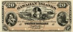 Value of 1879 $20 Hawaiian Islands Certificate of Deposit