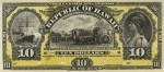 Value of 1895 $10 Republic of Hawaii Gold Certificate of Deposit