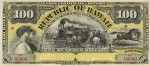 Value of 1895 $100 Republic of Hawaii Gold Certificate of Deposit