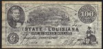 FAKE ALERT:  The State Of Louisiana $100 Bill March 10th, 1863