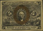 Value of March 3, 1863 Five Cents Fractional Currency