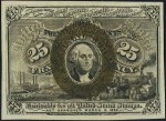 Value of March 3, 1863 Twenty Five Cents Fractional Currency